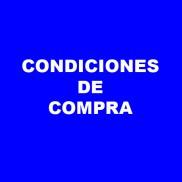 CONDICONES DE COMPRA